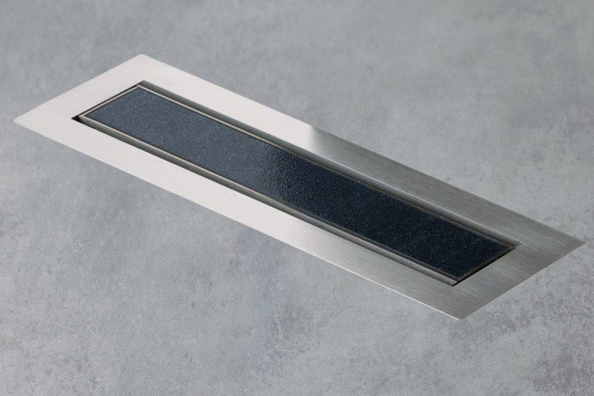 Easy Drain Aqua Jewels Linea Design Shower Drain