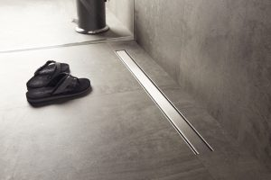 Linear shower drains