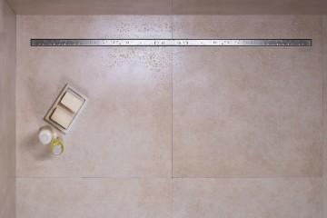 Linear Shower drain flex
