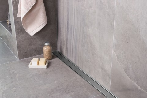 Easy Drain Compact Wall Linear Shower Drain