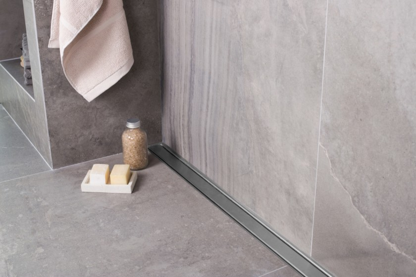 ... Easy Drain Linear Shower Drain Bathroom Compact Zero