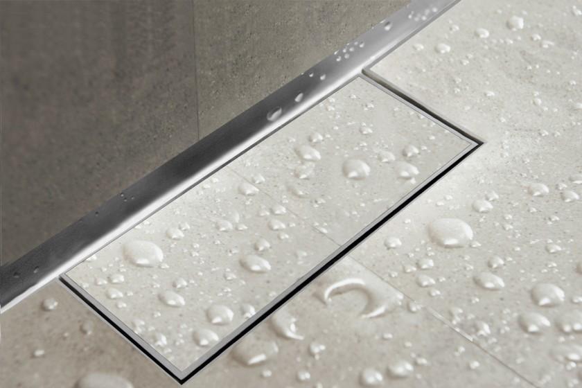 Easy Drain Waterstop Wall | Linear Shower Drain