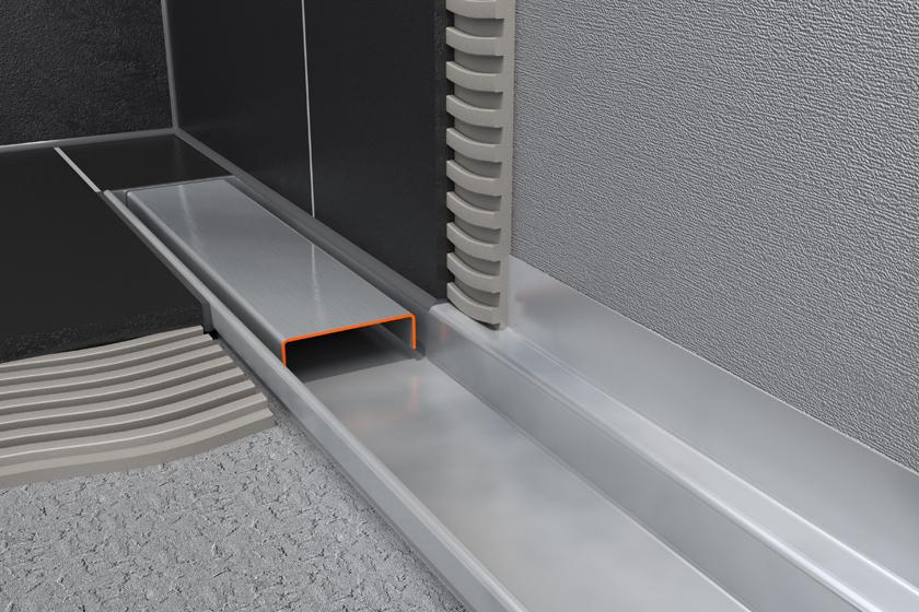 Easy Drain Compact Wall Linear Shower Drain