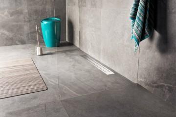 Design linear shower drain