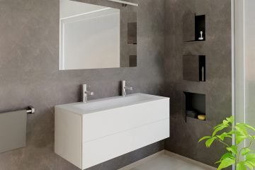 bathroom box t box ess wall niche bathroom t box d render  antraciet  x c center
