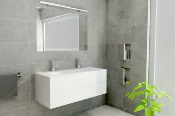 bathroom box t box ess wall niche bathroom t box d render  creme x c center