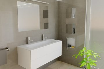 Wall Niches Container BOX Series Spacesaving Solutions - Bathroom niches for sale
