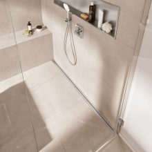 Find the right shower drain for your bathroom floor
