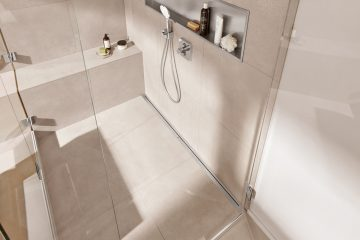 Charming Find The Right Shower Drain For Your Bathroom Floor