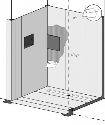 waterproofing directly tileable