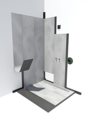 waterproofing shower