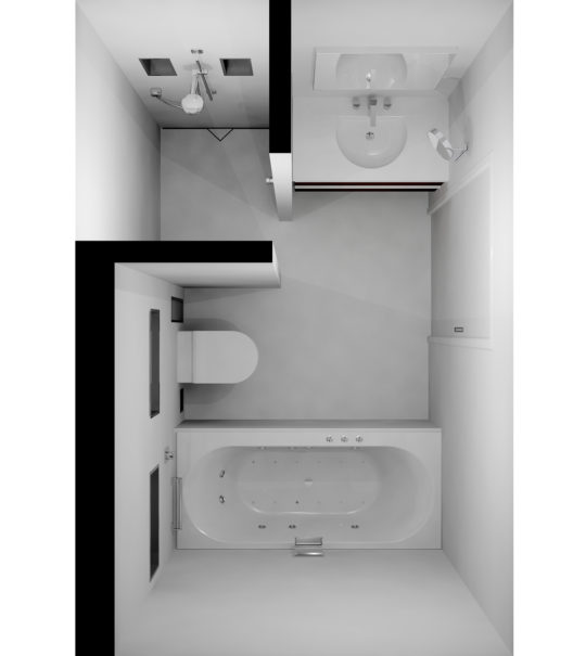 Admirable Tips To Make A Small Bathroom Look Bigger Easy Drain Download Free Architecture Designs Momecebritishbridgeorg