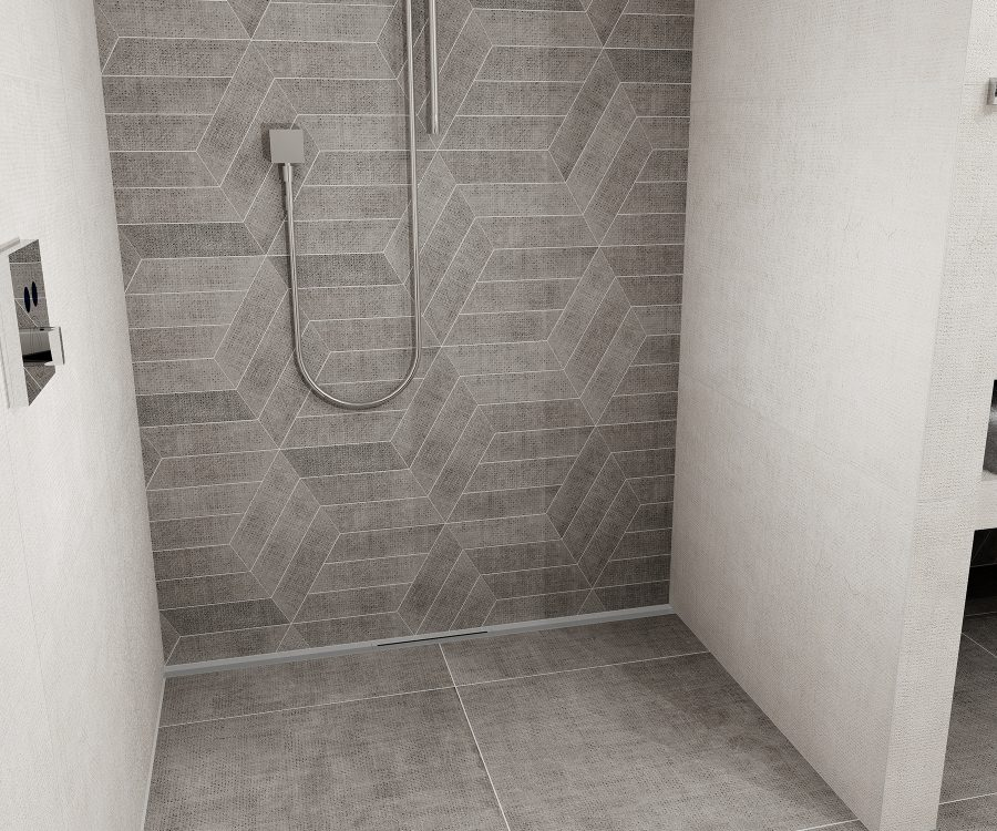 user-friendly shower drain