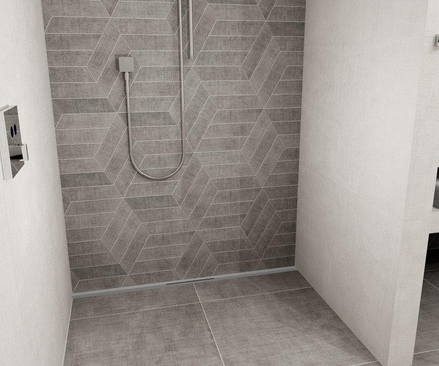 user-friendly shower drain