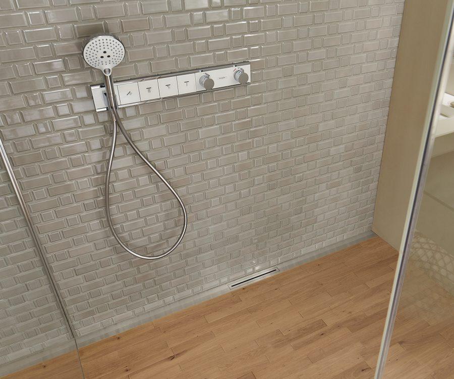 hygienic shower drain
