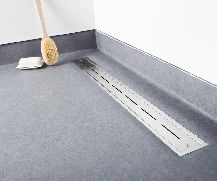 vinyl shower drain