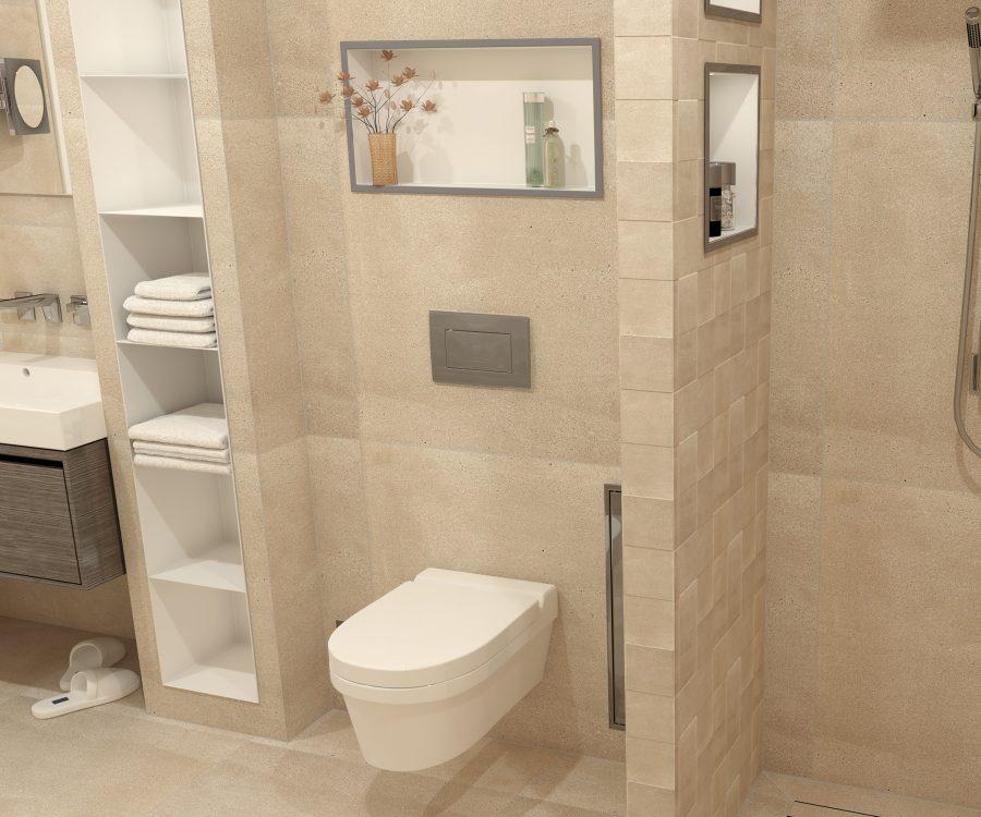 wall niche bathroom ideas