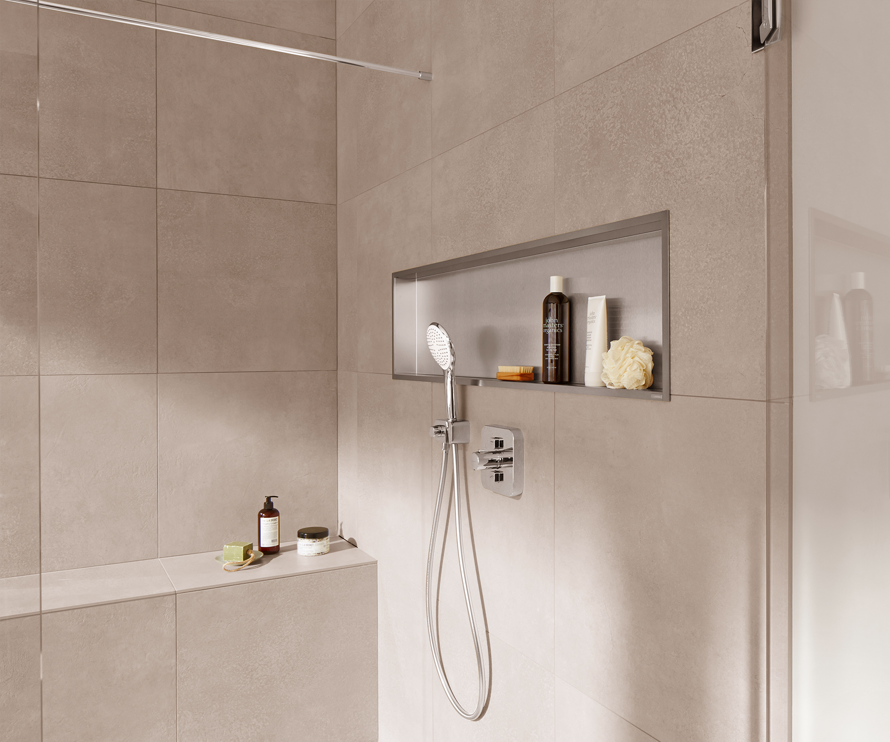 Bathroom Wall Mirrors Large: [How-to] Make A Wall Niche In Your Bathroom