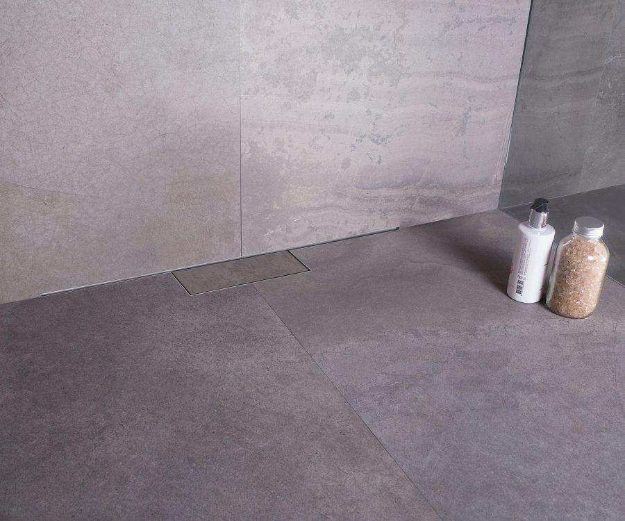 m-line tileable hidden design shower drain