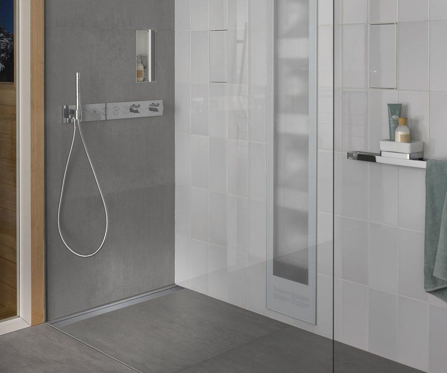 bathroom shower drain