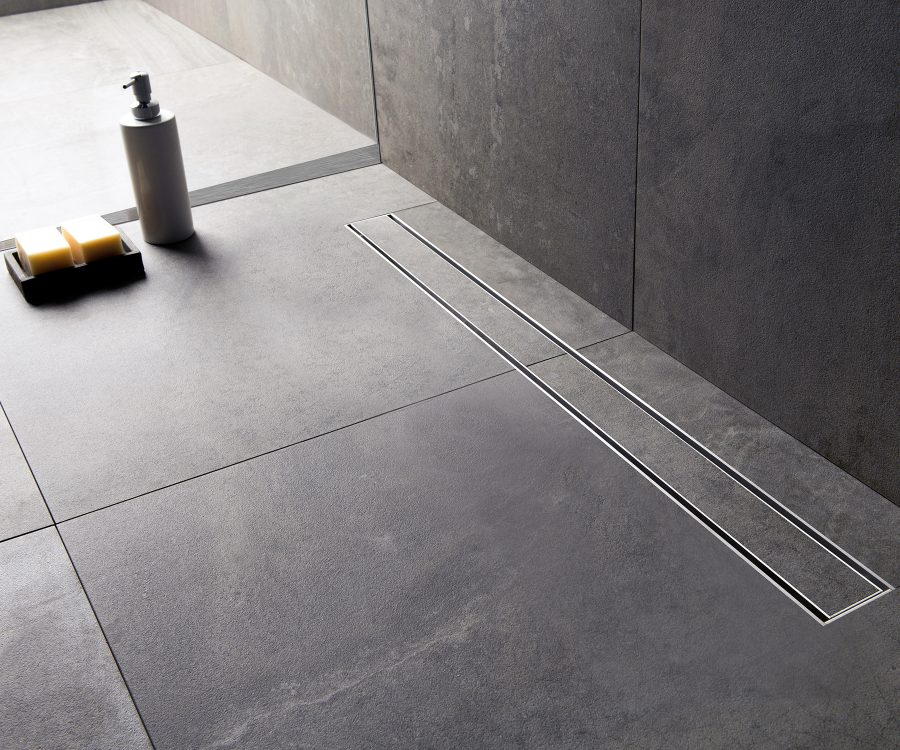 linear drains for tile showers