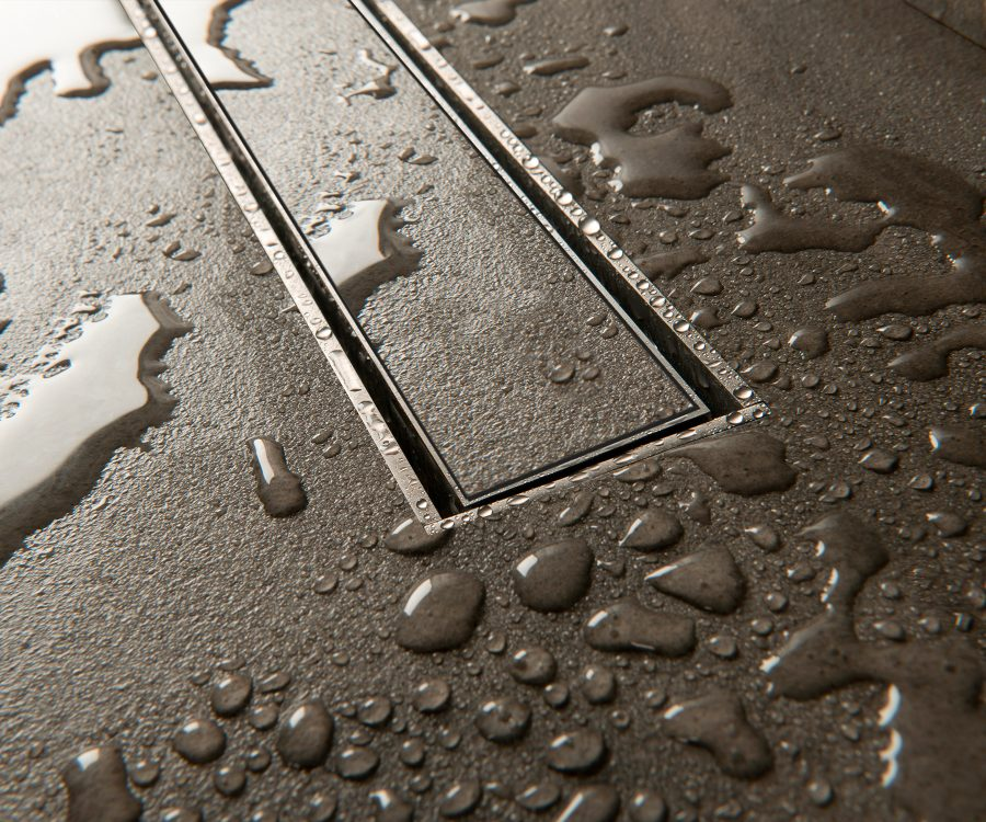 tileable drain cover closeup
