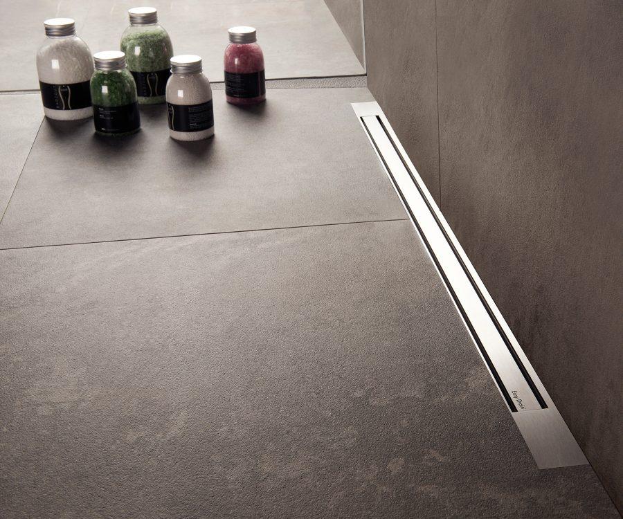 linear shower drain xs barrier free