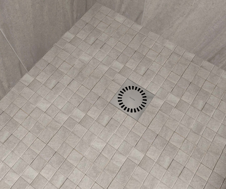 aqua brilliant point drain