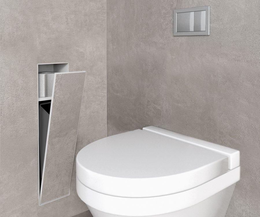 toilet waste-bin