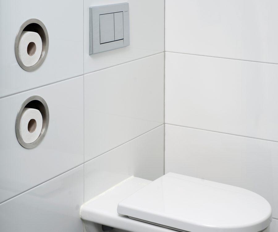 toilet paper storage round design