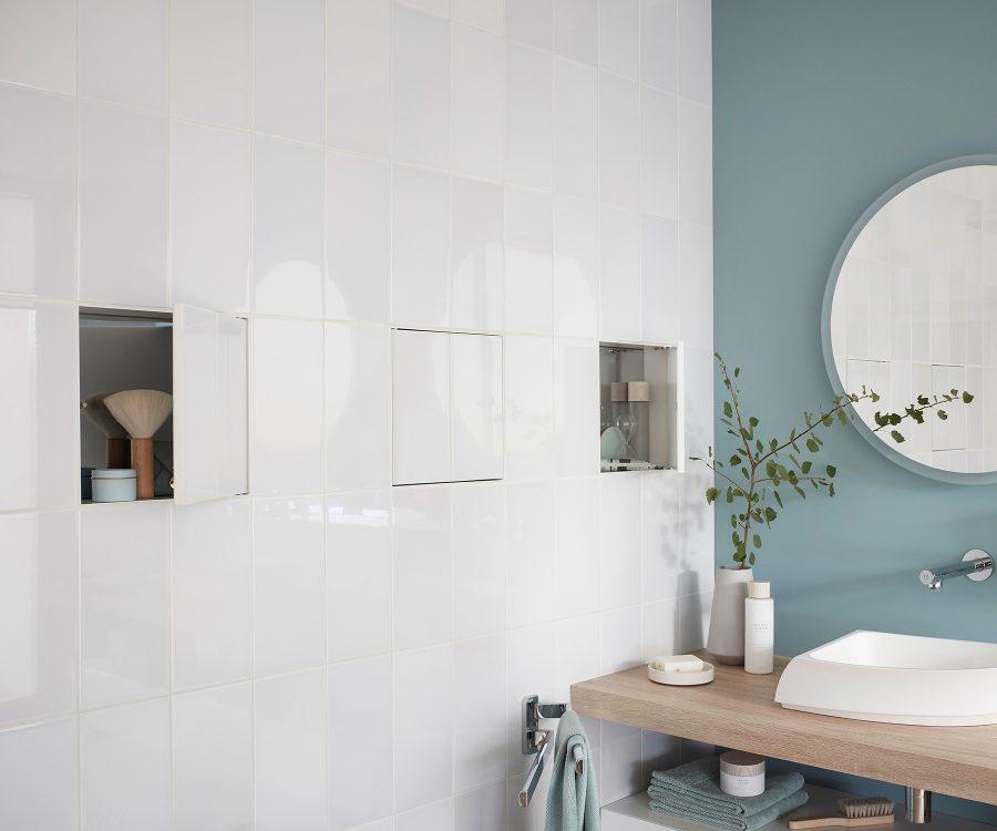 tileable hidden wall niches inspiration