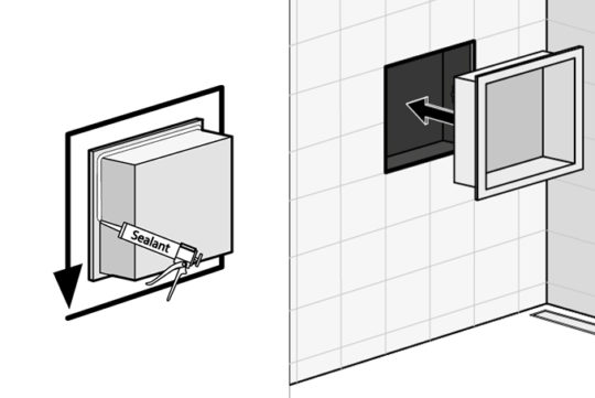 How-to] make a wall niche in your bathroom | Easy Drain