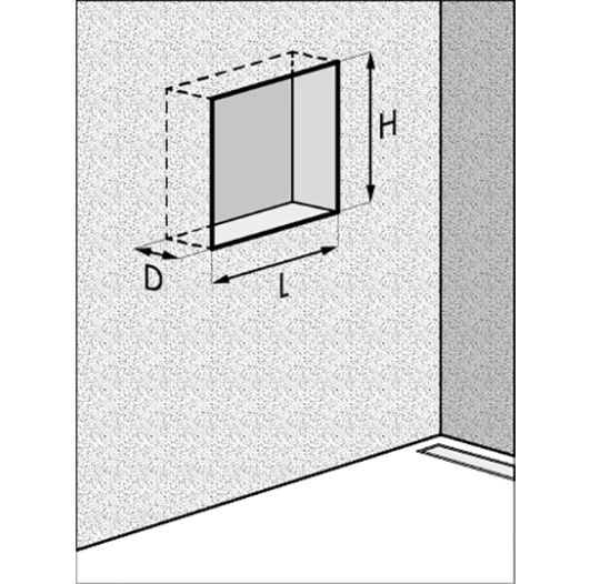 How To Make A Wall Niche In Your Bathroom Easy Drain