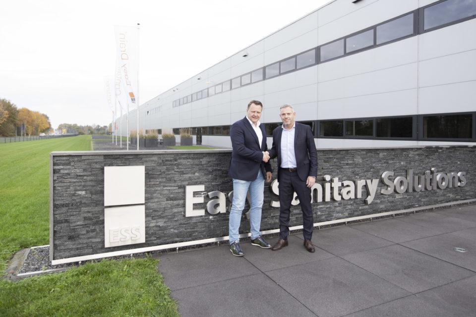 World's largest design drain manufacturer to enter the Nordics