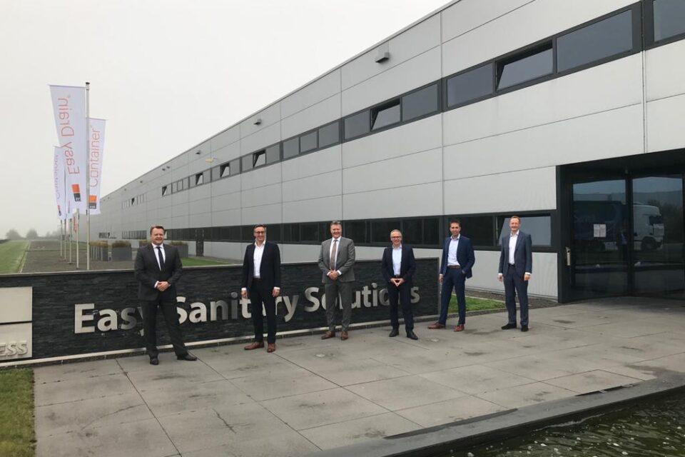 Easy Sanitary Solutions B.V. sells majority stake to Hansgrohe SE