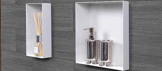 Beau Shower Wall Niches Ess Container Cbox