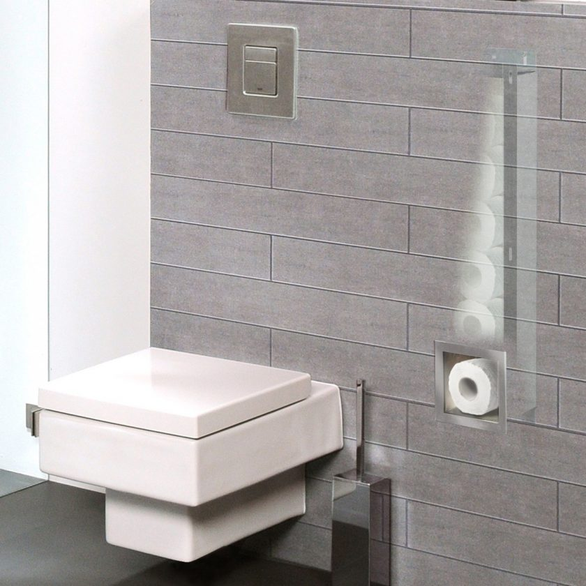 square bathroom accessories