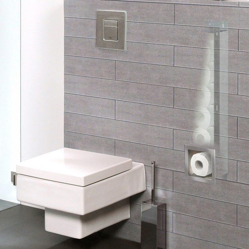 Concealed Toilet Paper Holder
