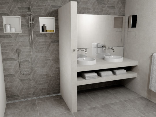 Renovating 300 Hotel Bathrooms Within 3 Months Easy Drain