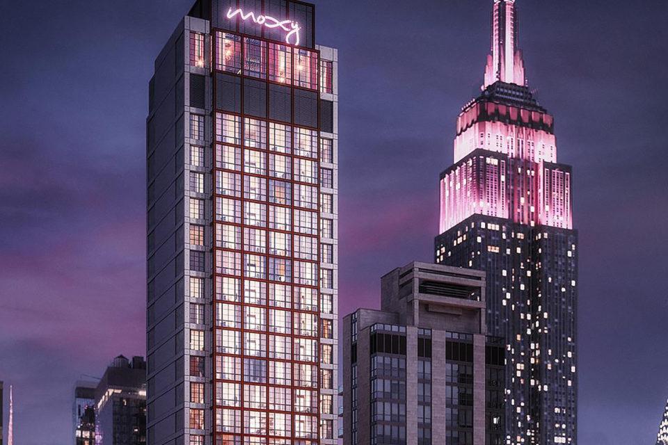 Moxy Chelsea Hotel NYC
