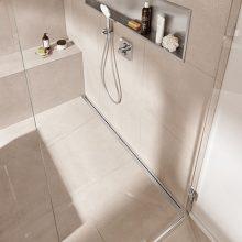 Badkamervloer kiezen: welke douchegoot is geschikt?
