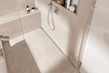 Welke Gietvloer Badkamer : Badkamervloer kiezen welke douchegoot is geschikt? easy drain