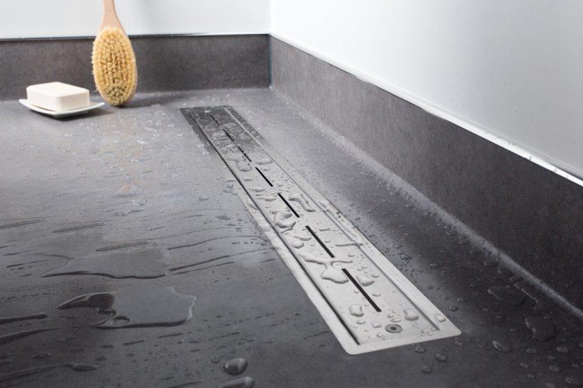 Easy drain vinyl serie douchegoot