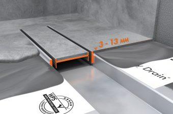 Verlaagd TAF frame voor dunne vloeren