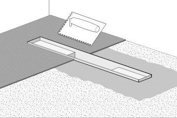 Badkamer Douche Plaatsen : Douchegoot plaatsen in enkele stappen easy drain
