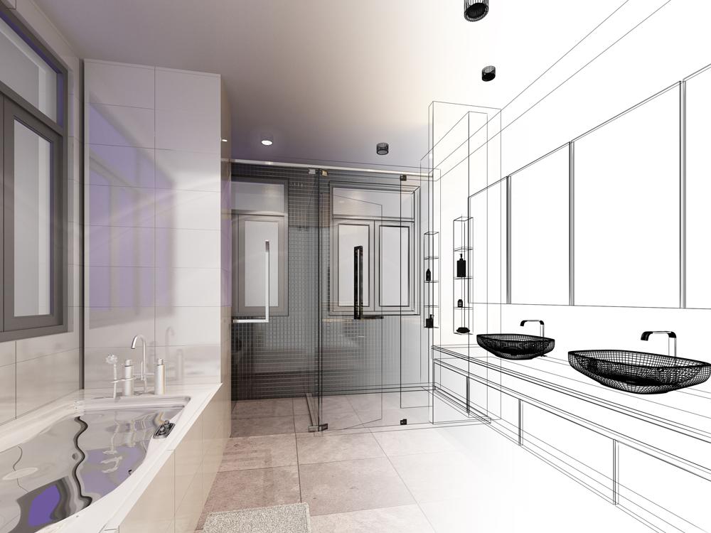 Badkamer verbouwen wat komt er allemaal bij kijken easy drain - Badkamer ontwerp ...