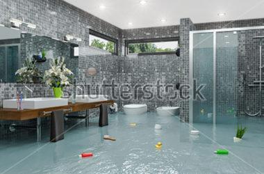 Wie betaalt mijn badkamer waterschade?
