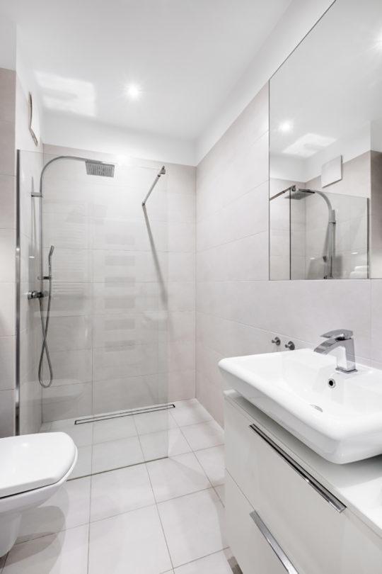 Tiles Combination For Small Bathroom