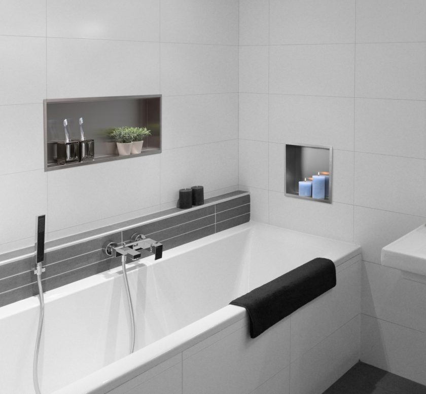 easy drain box niche murale series. Black Bedroom Furniture Sets. Home Design Ideas