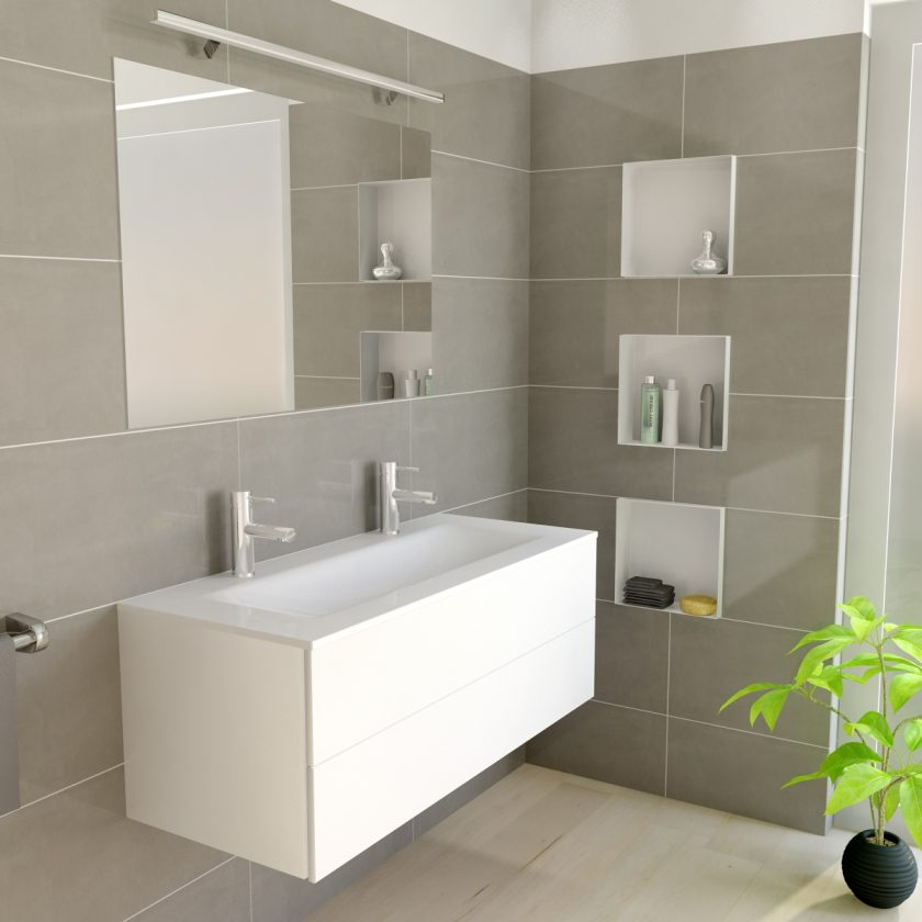 easy drain c box niche murale serie. Black Bedroom Furniture Sets. Home Design Ideas